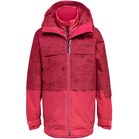 VAUDE Snow Cup AOP II 3in1 Jacket Kids crocus